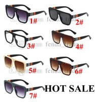 New Sunglasses Men Women Driving Sunnies Vintage Travel Fishing Classic Shades Sun Glasses Male UV400 7 colors 10PCS fast ship Factory Price
