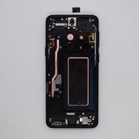 Samsung Galaxy S9 G960 için AMOLED Ekran LCD Ekran Panelleri Çerçeve