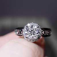 Wedding Rings Engagement Ring For Women Luxury Jewelry Anillos Mujer Simulation Moissan Diamond Open Adjustable Women's