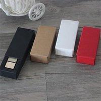 5pcs / lot petits bijoux tiroir papier boîte à lèvres lèvre gloss boîte boîte cosmétique faveur mini emballage cadeau