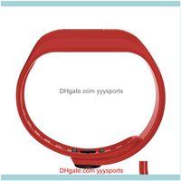 Asores-Ausrüstungen Liefert Sport OutdoorsAdjustable Sile-Uhr-Band-Strap-Teile für Garmin VVIVOFIT 3 Armband Fitness-Drop-Lieferung 20