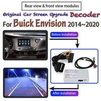 Автомобиль заднего вида Камеры Паркинг Датчики переднего камеры Для предусмотрения 2014 ~ 2021 Интерфейс Оригинальный экран Обратный CA