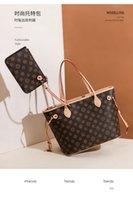 4 Cores Lattice 2 Pcs Set 2021New Qualidade Top Quality PU Ombro Bolsas Mulheres Handbags Senhoras Cintura Luxurys Designers Lady Clutch Bolsa Moda Saco # 5188