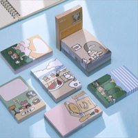 Cute Anime Sticky Notes Korean Stationery Memo Pad Diary Sticker Kawaii Japanese Notepad