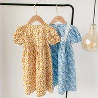 Kids Clothes Girls 2021 Summer Princess Dresss For Children Cotton Tutu Dress Baby Girl Party Dress Clothing Q0716