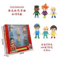 6 cocomelon watermelon school bus baby cartoon doll JOJO boy cake hand-made ornaments