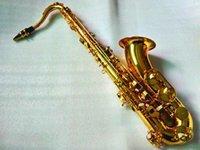 Japonya Yanagisawa T-902 Tenor Profesyonel Saksafon Bb Tune B Düz Sax Pirinç Altın Kaplama Müzik Aletleri Kılıfı Ile