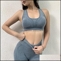 Gym Exercise Wear Athletic Outdoor Apparel & Outdoorsgym Clothing Women Sport Bra Top Black Padded Yoga Brassiere Fitness Sports Tank Female