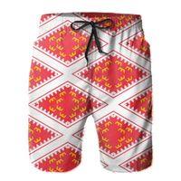 Pantaloncini da uomo PROMO Bandiera dell'Alsazia Anime Causas traspirante rapido secco per novità a secco Bandiere Le regioni Francia con pantaloni Hawaii