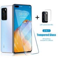 حماة شاشة الهاتف الخليوي شقاء الزجاج ل Huawei P30 Lite P40 E 5G NOVA 5T سلامة عدسة زجاج عدسة حماة لهواوي ماتي 30