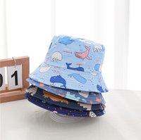Sombrero de garabato sombrero ancho sombreros algodón sol casco sombrilla al aire libre cabeza niños verano fishman gorras gorras sombreros zzc5497