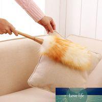 Staubbürste Haushaltsfeder Staubreinigung Pinsel Wolle Strauß Feder Duster Staubbürste Hängendes Seil Anti-Statik Rutschfeste Duster