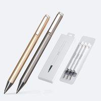 젤 펜 2021 금속 표지판 펜 델리 잉크 9.5mm 서명 프리 쿠스 부드러운 리필 Mikuni 일본 OEM 블랙 블루