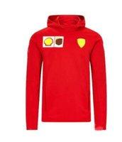 Nouvelle voiture Fan Team F1 Racing Suit Team Sweat-shirt Casual Big Logo Imprimé Sports Veste Plus Velvet Sweat à capuche