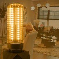 전구 12 / 25 / 50W E27 LED 옥수수 전구 따뜻한 화이트 슈퍼 밝은 빛 백열 가치가 아닌 비 - 디 밍이 가능