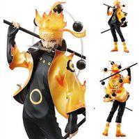 Yeni Sıcak 22 cm Naruto Uzumaki Naruto Ootutuki Hagoromo Koleksiyonerler Action Figure Oyuncaklar Noel Hediyesi Oyuncak Kutusu ile T200603