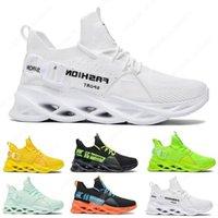 36-44 تنفس أزياء رجالي إمرأة الاحذية T9 الثلاثي الأسود الأبيض الأخضر الأحذية في الهواء الطلق الرجال النساء مصمم أحذية رياضية الرياضة المدربين حجم