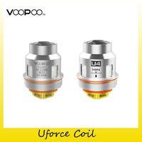 Authentic Voopoo uforce bobina testa u2 u4 u6 u8 N1 D4 bobine sostitutive per originali troppo kit T1 serbatoio 100% genuino 2272005
