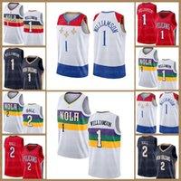 New Jersey Orleans Jersey Pelican Zion 1 Williamson Lonzo 2 Top Brandon 14 Ingram Basketbol Patrick 33 Ewing Kevin James Durant Harden