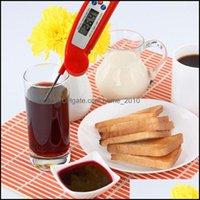 온도 측정 분석 악기 오피스 학교 비즈니스 산업용 103 SN012B PT301 디지털 고기 스테인레스 스틸 주방 요리사