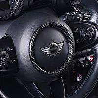Sticker de voiture de décoration de volant pour mini Cooper S F54 F55 F56 F57 F57 F60 Modification de voiture Automobile Accessoires d'intérieur