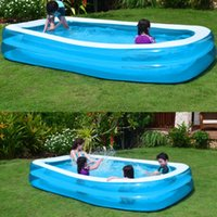 Pool & Accessories Summer Inflatable Swimming Family Kids Children Adult Play Bathtub Wat