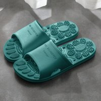 Women Slippers Bathroom Non Slip Solid Color Foot Massage Slippers Fashion Indoor Outdoor Flip Flops Beach Bathroom Slipper J0kW#