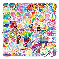 101 Symphony Laser Children's Stickers Colorful Graffiti Skin Protectors Luggage Sticker Motorcycle