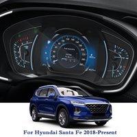 HYUNDAI için Sante Fe 2018-Mevcut Araba Styling GPS Navigasyon Ekran Cam Koruyucu Film Dashboard TPU Ekran Filmi