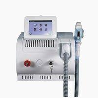 Dispositivos de laser de IPL opt str equipamentos de beleza de remoção de cabelo elight rf cuidados com a pele q comutados nd yag laser