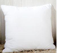 45 * 45 cm Sublimation Square Kissenbezüge DIY Kissenbezug Abdeckung Für Wärmeübertragung Sofa Hüllen Blank White Whirling Kissen A06