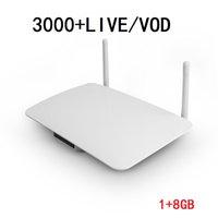 12M Leadcool NOKE 1404 lecteur multimédia 1G 8G Android smart tv box pour la France arabe Europe