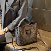 Frauen 2021 Neue Mode druck Große Kapazität Eimer Temperament Eine Schulter Handtasche Vielseitige Messenger Bag Trend Abendkupplungen