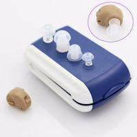 Nouveau Amplificateur Best Sound In-Ear SUPER MINI MINI Aide auditive Aide Dispositif Tone Réglable Tone Soins d'oreille Personnel Cadeau de haute qualité