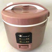 الكهربائية الفاخرة الشمبانيا الذهب طباخ الأرز الأجهزة المطبخ 3 لترات الفاخرة الفولاذ المقاوم للصدأ مصنع منفذ