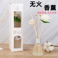 T Sin fuego Aromatherapy Hogar Dormitorio Purificación de aire Flower Seco Set Rattan Oil Esencial Sin Humo AromatherapAPQGD5