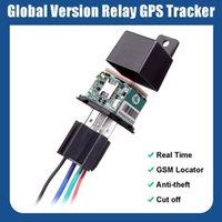 Car GPS & Accessories Motorcycles Hidden Relay Mini Tracker Device Cut Off Fuel Vehicle Vibrate Alert Free Locator Tracking APP CJ720