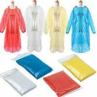 هود المتاح pe المعطف الكبار لمرة واحدة الطوارئ ماء المعطف المعطف التخييم يجب أن المطر معطف المطر في الهواء الطلق