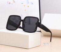 21 디자이너 사각형 선글라스 남성 여성 빈티지 그늘 편광 된 선글라스 남성 태양 안경 패션 금속 판자 선글라스 아이웨어 565