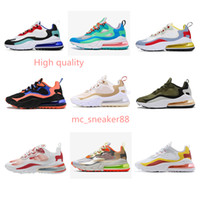 2021 الرجال النساء أحذية بيع أعلى جودة رد فعل coralgriadients colorway مجانا الثلاثي balck bauhaus الرياضة الرياضية أحذية رياضية الحجم 36-45
