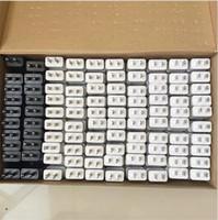 Qualità OEM originale 5V 3A 2A 1A US / UE Plug Plug Adattatore da viaggio Adattatore a muro Fast Charger per Samsung S7 S8 S9 Plus Nota