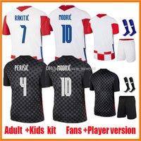 2021 Rakitic Mandzukic Soccer Jerseys Jerseys Player Version 20 21 22 Maillots de Foot 2020-21 Mentric Périsique Kovacic Hommes Kits Enfants Chemises de football uniforme