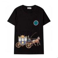 남성 패션 티셔츠 2021 편지 망을 가진 트렌디 한 여성 티셔츠 꼭대기 여름 캐주얼 통기성 의류 아시아 크기 M-2XL