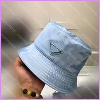 Cappello del secchio in nylon Unisex Donne Donne Designer P Cap Capt Cappelli Triangle Lussurys Designer Caps Bonnet Beanie Womens Sunhat Trucker D2108012L