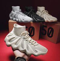 Cloud White Cream 450 Supply Kanye 450s الاحذية غرب رجل إمرأة أسود إشرفيل الرجال أسرييل ساكنة عاكسة عارضة أحذية حذاء مع صندوق 36-45