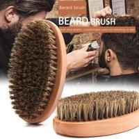 Cepillos para el cabello Barra de cerdas Cepillo de madera maciza Barba de hombre Personalidad de la personalidad Herramienta de limpieza Herramienta de peine Herramientas de cuidado