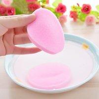 Esponjas, aplicadores algodón 12 unids / bolsa cosmético soplo comprimido limpieza esponja limpiador facial lavado cadáver polvo