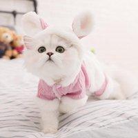 Trajes de gato encantador lindo lindo otoño otoño sudaderas mascotas cachorro invierno suéter de navidad de luxe pour chien animales ropa OO50JS