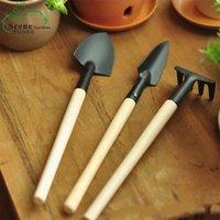 3 pçs / set mini ferramentas de jardim ake + pá + pá for fada jardim miniaturas ferramentas terrário figuras ferramenta frete grátis 367 s2
