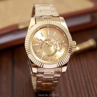 Armbanduhren Drop 2021 Luxusuhr Top Marke Mode Himmelsuhr Datum Männer Quarz Gold Rolle Männliche Armbanduhr 30m Wasserdicht